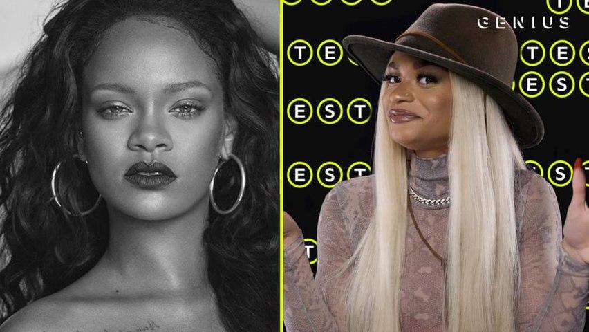 Melii Takes The Rihanna Quiz | The Genius Test