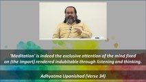 Hear, Concentrate, Meditate, Dissolve || Acharya Prashant, on Adhyatma Upanishad (2019)