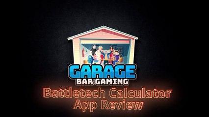 Battletech Calculator App Review