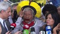 Raoni diz que Bolsonaro 'tem que sair'