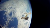 International Space Station Astronaut Captures Stunning Image Of Spacecraft Launch From Earth