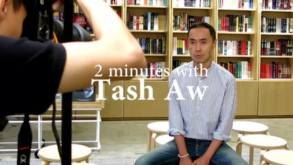 2 minutes with Malaysian author Tash Aw