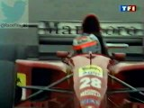 F1 1995_Manche 3_Gran Premio di San Marino_Course_5 derniers tours (en français - TF1 - France) [RaceFan96]