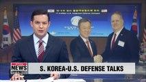 S. Korea, U.S. open bi-annual defense talks in Seoul