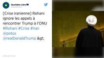 Hassan Rohani ferme la porte à une rencontre avec Donald Trump à New York