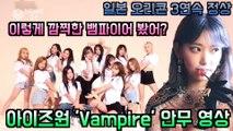 아이즈원(IZ *ONE), 일본 싱글 3집 '뱀파이어(Vampire)' 안무 연습 영상