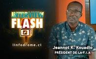 Interview flash : 17ème championnat du monde d'athlétisme à Doha Le Président de la F.I.A confiant