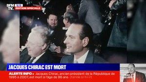 Jacques Chirac est mort : retour sur le parcours d'un homme politique hors norme