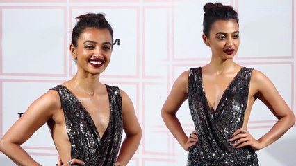 Radhika Apte EMBARRASSING Moment In FRONT Media At Vogue Beauty Awards 2019