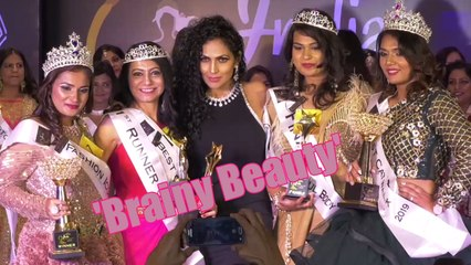 Grand Finale Of 'Brainy Beauty' With Celebs