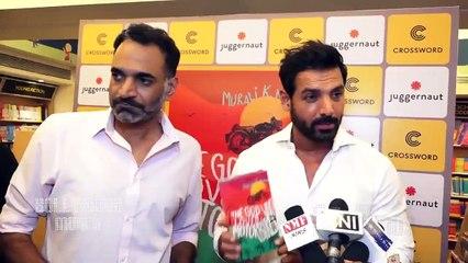John Abraham Launches Murali K Menon's Book 'The God Who Loved Motorbikes