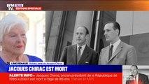 Line Renaud, en larmes, évoque la mort de Jacques Chirac sur BFMTV