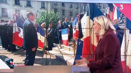 Marine Le Pen - France 3 dimanche 29 septembre 2019