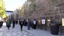 Tarihi Kayseri Kalesi'ne ziyaretçi ilgisi