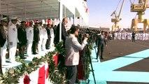 """Erdoğan: """"Son dönemde dünya ve Akdeniz'de yaşanan hadiseler bize her alanda olduğu gibi denizlerde..."""