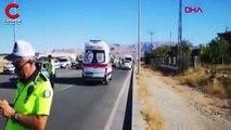 Malatya özel halk otobüsü devrildi: 20'nin üzerinde yaralı var