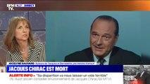 """""""Bernadette est un homme politique"""": pour Jocelyne Sauvard, auteure du livre """"Jacques et Bernadette, une histoire d'amour"""", l'ancienne Première dame """"a été de bons conseils"""""""