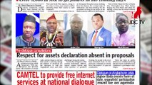 CAMEROONIAN PRESS REVIEW OF SEPTEMBER 26,2019