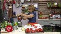 Hoy en Clases de cocina Huevos con tomates, tomates fritos y mermelada 26/09/2019