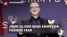 John Oliver Takes Home Another Emmy