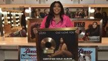 Lizzo Receives Her Billboard Hot 100 & RIAA Plaques   Billboard News