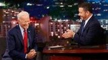 Joe Biden Speaks With Jimmy Kimmel About Trump's Impeachment Inquiry | THR News
