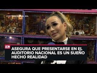 María José comparte su ritual previo a su presentación en el Auditorio