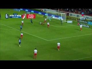 Aké Loba anota gol tras recibir sorprendente pase   Querétaro vs Necaxa