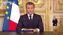 """Emmanuel Macron: """"Nous perdons un homme d'État que nous aimions autant qu'il nous aimait"""""""