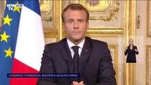 """Emmanuel Macron: """"Jacques Chirac eut aussi des drames intimes, que sa pudeur toujours entoura de silence"""""""