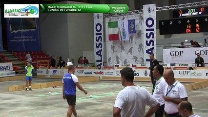 Q2, tir de précision U18,Mondial Jeunes U18 et U23, Alassio 2019