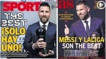 Lionel Messi met tout le monde d'accord en Espagne, la FIFA furieuse contre Cristiano Ronaldo