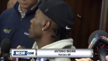 Antonio Brown Breaks Silence, Addresses Media For First Time As Patriot