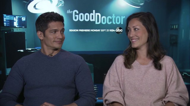 """IR Interview: Nicholas Gonzalez & Christina Chang For """"The Good Doctor"""" [ABC-S3]"""