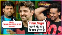 Kapil Sharma MAKES FUN Of Hrithik Roshan Tiger Shroff Vaani Kapoor   The Kapil Sharma Show   WAR