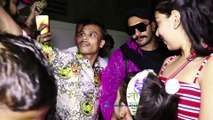 Ranveer Singh & Alia Bhatt Spotted At Old Dharma Office