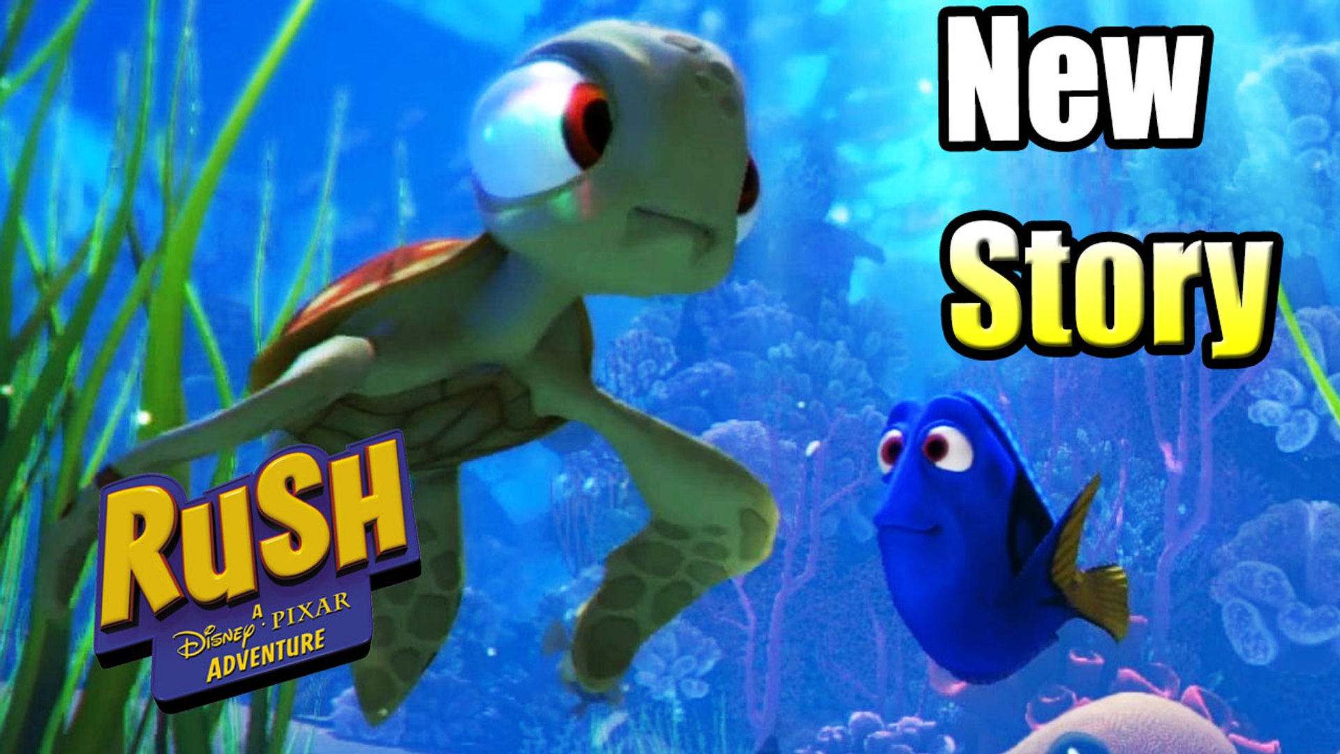 Finding Dory New Story — Rush A Disney's Pixar Adventure {XBox One GamePlay}