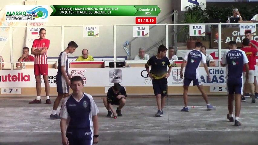 Barrages Double U18 et U23, Mondial Jeunes U18 et U23, Alassio 2019