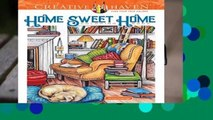 Full E-book  Creative Haven Home Sweet Home Coloring Book (Adult Coloring)  Best Sellers Rank : #1