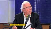 « La première fois que j'ai rencontré Jacques Chirac, c'était à un déjeuner chez mon grand-père », raconte  Jacques Vendroux