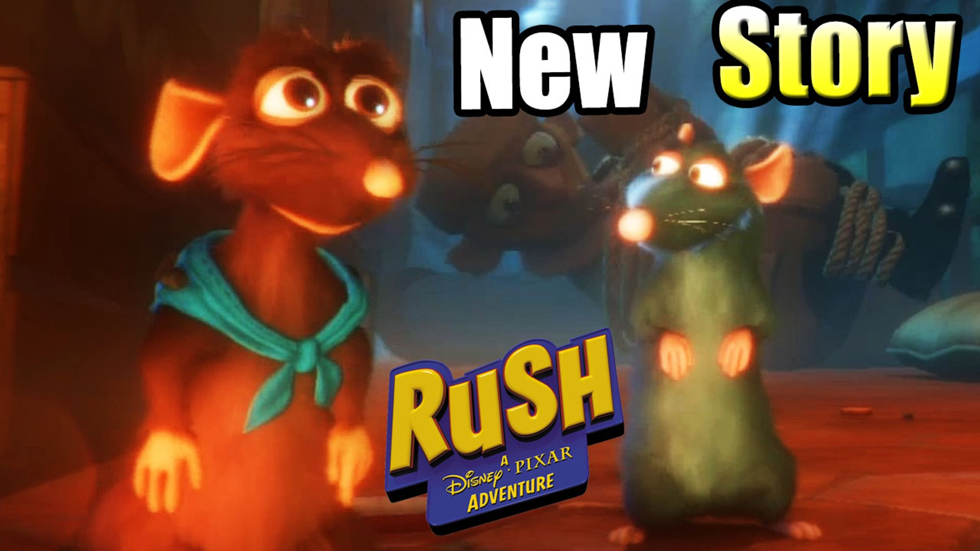 Ratatouille New Adventure — Rush A Disney's Pixar Adventure {Windows PC GamePlay}