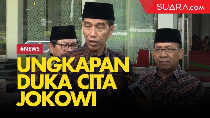 Tanggapan Jokowi soal Meninggalnya Mahasiswa Kendari dan Gempa Ambon
