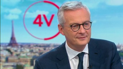 Bruno Le Maire - France 2 vendredi 27 septembre 2019