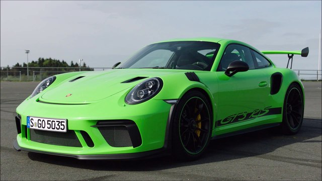 Presentation Porsche 911 (991-2) GT3 RS 2019 - Lizard Green - Pure engine sound !