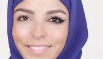 كيفية إبراز العينين ورفعهما بالكحل الأسود للمرأة المحجبّة