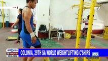 Colonia, 29th sa World Weightlifting Championships