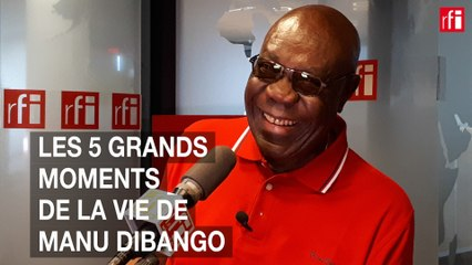 Les 5 grands moments de la vie de Manu Dibango