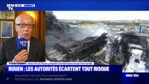 """Le maire de Rouen dit """"comprendre"""" l'inquiétude des habitants après l'incendie de l'usine Lubrizol"""
