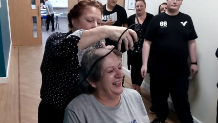 Catcote Futures cook's close shave for charity