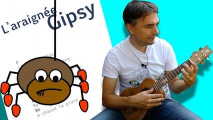 L'araignée GIPSY - Comptine pour enfants [ ukulélé FACILE ]